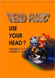 Advert for Head Panic on the Arcade.
