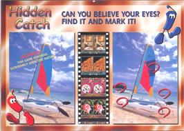 Advert for Hidden Catch on the Arcade.