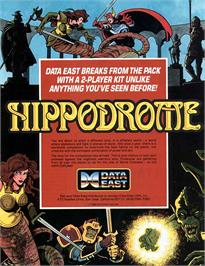Advert for Hippodrome on the Arcade.