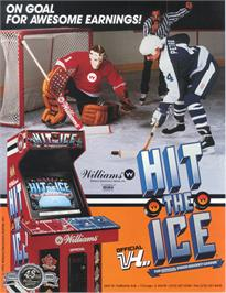 Advert for Hit the Ice on the Arcade.