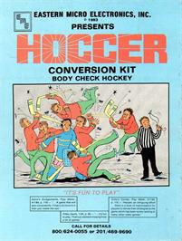 Advert for Hoccer on the Arcade.
