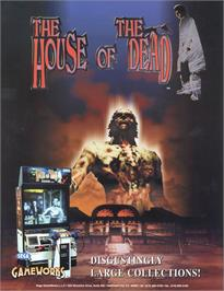 Advert for House of the Dead on the Sega Saturn.