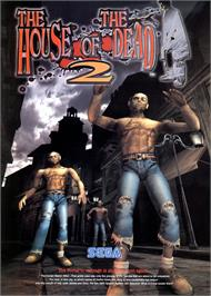 Advert for House of the Dead 2 on the Arcade.