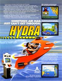 Advert for Hydra on the Arcade.