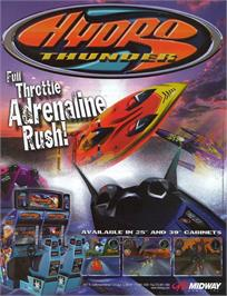 Advert for Hydro Thunder on the Nintendo N64.
