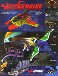 Advert for Hyperdrive on the Arcade.