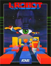 Advert for I, Robot on the Arcade.
