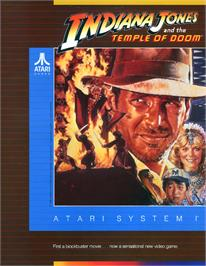 Advert for Indiana Jones and the Temple of Doom on the Microsoft DOS.