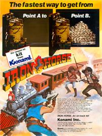 Advert for Iron Horse on the Arcade.