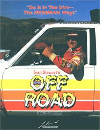 Advert for Ironman Ivan Stewart's Super Off-Road on the Arcade.