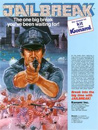Advert for Jail Break on the Amstrad CPC.