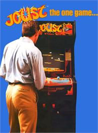 Advert for Joust on the Arcade.