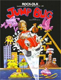 Advert for Jump Bug on the Arcade.
