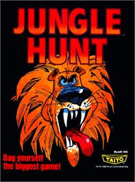 Advert for Jungle Hunt on the Arcade.