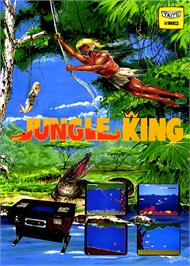 Advert for Jungle King on the Arcade.