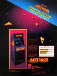 Advert for Juno First on the Arcade.