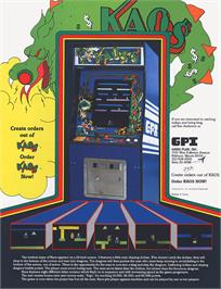 Advert for Kaos on the Arcade.