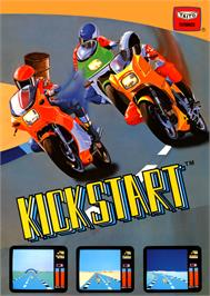 Advert for Kick Start Wheelie King on the Arcade.