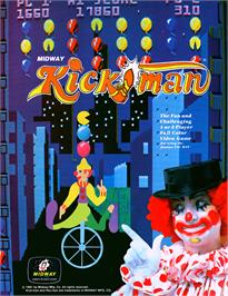 Advert for Kickman on the Arcade.