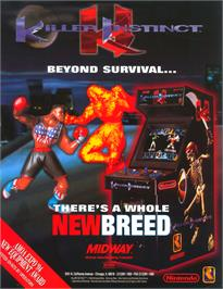 Advert for Killer Instinct on the Coleco Vision.