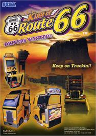 Advert for King of Route 66 on the Arcade.