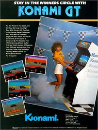 Advert for Konami GT on the Arcade.