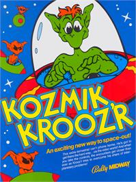 Advert for Kozmik Kroozr on the Arcade.