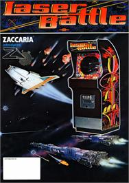 Advert for Laser Battle on the Arcade.