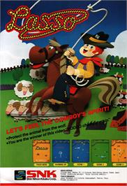 Advert for Lasso on the Arcade.