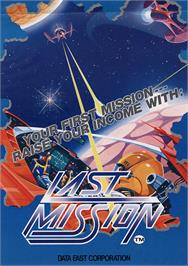 Advert for Last Mission on the MSX.