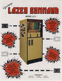 Advert for Lazer Command on the Arcade.