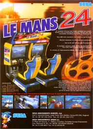 Advert for LeMans 24 on the Sega Model 3.