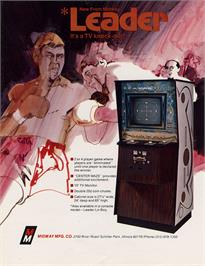 Advert for Leader on the Arcade.