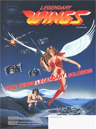 Advert for Legendary Wings on the Arcade.