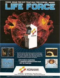 Advert for Lifeforce on the Amstrad CPC.