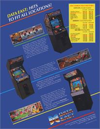 Advert for Little Hero on the Arcade.