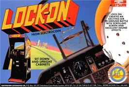 Advert for Lock-On on the Arcade.