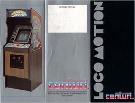 Advert for Loco-Motion on the Arcade.