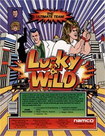 Advert for Lucky & Wild on the Arcade.