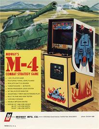 Advert for M-4 on the Arcade.