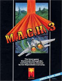Advert for M.A.C.H. 3 on the Arcade.