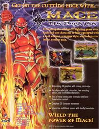 Advert for Mace: The Dark Age on the Nintendo N64.