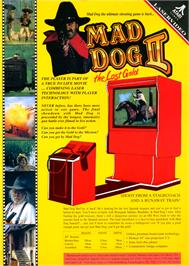 Advert for Mad Dog II: The Lost Gold v2.04 on the Philips CD-i.