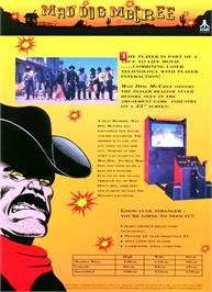 Advert for Mad Dog McCree v1C board rev.A on the Arcade.