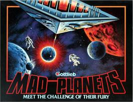 Advert for Mad Planets on the Arcade.
