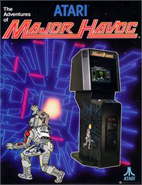 Advert for Major Havoc on the Arcade.