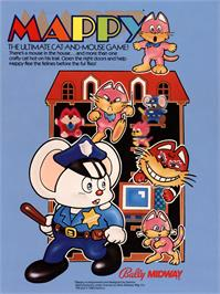 Advert for Mappy on the MSX 2.