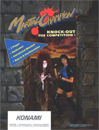 Advert for Martial Champion on the Arcade.