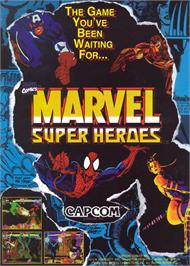Advert for Marvel Super Heroes on the Arcade.