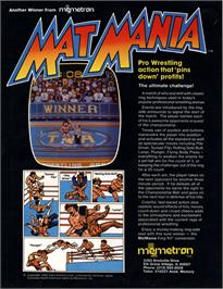 Advert for Mat Mania on the Arcade.